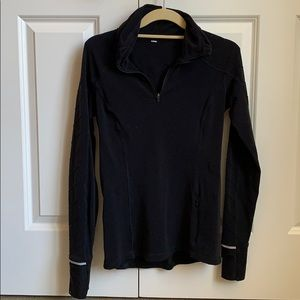 Lululemon Black Quarterzip